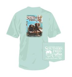 fe448117 Southern Fried Cotton Bella and Bo Short Sleeve T-Shirt in Island Reef  SFM1446 Long