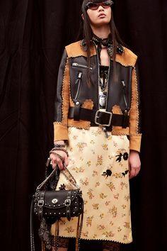 Coach SS17 womenswear NYFW Dazed backstage