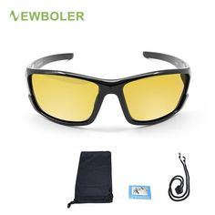 ae1672a8511 Fishing Sunglasses. Night DrivingPolarized Fishing SunglassesMens Glasses CyclingOutdoorLensesSportsEyewearYellow