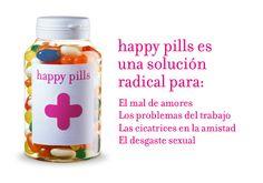 Happy Pills: las píldoras de la felicidad. ¿Qué mejor regalo para tu boda?