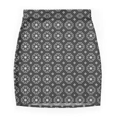 Boho Girl Bodycon mini skirt. Feel Good Fashion & Living® by Marijke Verkerk Design @ www.marijkeverkerkdesign.n