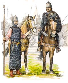 Caballeria Pesada Visigoda Siglo VII DC