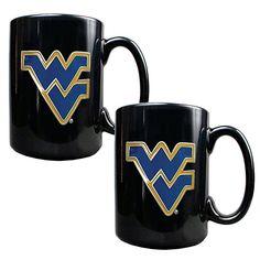 West Virginia University Mountaineers 2-pc. Mug Set, Multicolor