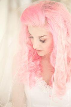 Pink hair do