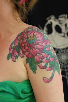 chrysanthemum tatoo - Google Search