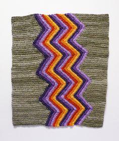 Artist Angela Tang Turns Yarn Into Paint for Crochet |