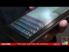 A technology that modifies the screen on a smart device so that you get a 3D feel.