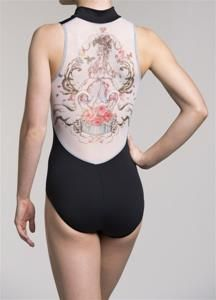 Ainsliewear ! NEW ! Zip Front Leotard with Marie Antoinette Print Buy it here $80  http://www.mcssl.com/store/073b263a9d7a4f539041db204045e4/leotards/ainsliewear/ainsliewear-new-zip-front-leotard-with-marie-antoinette-print to order please follow our link or email us at thedancingfeetshop@gmail.com