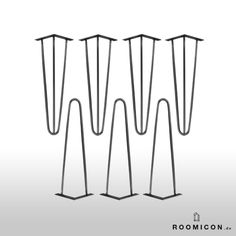 Hairpin legs wohnzimmer pinterest hairpin legs legs and hair pins - Dawanda hairpin legs ...