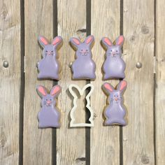 The Bunny Cutter. How Cute are these? #spring #bunny #cookie #cookiecutter #cookiecutterkingdom