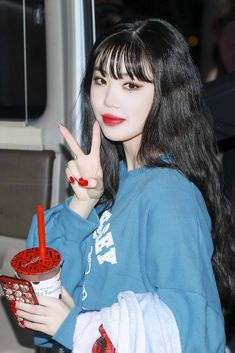 dedicated to female kpop idols. Kpop Girl Groups, Korean Girl Groups, Kpop Girls, K Pop, Cubes, Soo Jin, Korean Wave, Only Girl