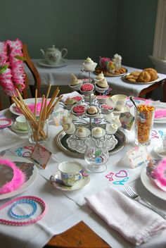 Princess Tea Party - three great tips for hosting any party.