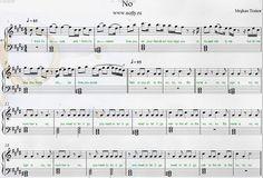 Meghan Trainor — No Free Piano Sheets