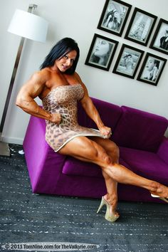 ZIMBO muscle women rule — zimbo4444:   ..Nuriye..Yes!..