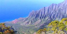 mejor isla de hawai Kauai Hawaii, Mountains, Nature, Travel, Comet Goldfish, Whales, Waterfalls, Islands, Viajes