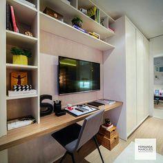 Inspiração ♡ #interiores #design #interiordesign #decor #decoração #decorlovers #archilovers #inspiration #ideias #escritório #homeoffice #cantinhodeestudos