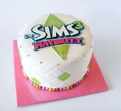 The Sims 3 cake * made by http://www.facebook.com/KirstensTaartDromein