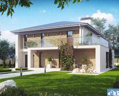 Prelijepo i moderno … Sprat kuće koji bi zadivio sve posjetioce ! Home Fashion, Exterior, Mansions, House Styles, Projects, Design, Home Decor, Houses, Log Projects