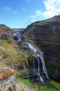 Glymur Waterfall Snæfellsnes Peninsula - Luxe Adventure Traveler