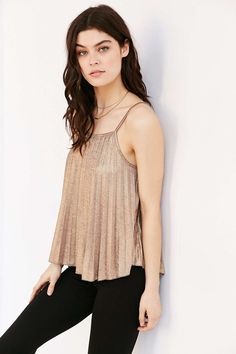 Silence + Noise Get Glam Cami - Urban Outfitters