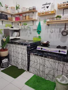 Loft Kitchen, Kitchen Room Design, Home Room Design, Kitchen Sets, Home Decor Kitchen, Kitchen Interior, Home Interior Design, Home Kitchens, House Design