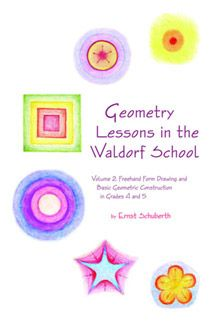 Waldorf ~ 5th grade ~ Freehand Geometry ~ This book is the second volume of mathematician and Waldorf teacher Ernst Schuberth's Geometry Lessons in the Waldorf School. It covers the free form drawing and basic constructions covered in the fourth and fifth grades. ~ free download