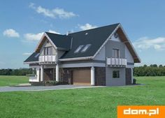 DOM.PL™ - Projekt domu AN LAZURYT CE - DOM AO10-37 - gotowy koszt budowy Shed, Outdoor Structures, Lean To Shed, Coops, Barns, Sheds, Tool Storage, Barn
