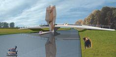 Ontwerp voor een nieuwe brug over de Donge, i.o.v. Consortium Koolhoven (2008) Design