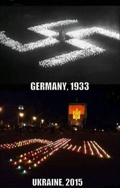 Via Laurent Brayard L'#Allemagne en 1933, l'#Ukraine en 2015 #PravySektor…