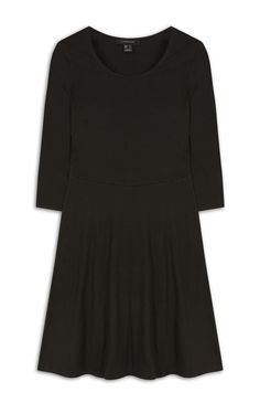 1a2b52d2ed Primark - Black Skater Dress Dress Styles