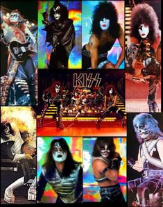 Heavy Metal Music, Heavy Metal Bands, Kiss World, Kiss Logo, Kiss Concert, Kiss Rock Bands, Detroit Rock City, Kiss Images, 80s Hair Bands