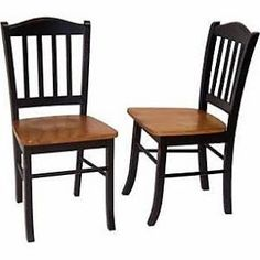 set of 4 dining chairs honey brown - Google Search