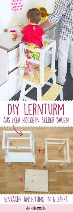Lernturm selber bauen, DIY Lernturm, Lernturm Anleitung