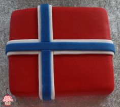 17.mai kake Norwegian Food, Norwegian Recipes, 17. Mai, Norway National Day, Bake Sale Packaging, Norway Food, Norwegian Vikings, Constitution Day, Champagne Brunch