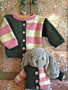 I found out that my dear friend's son and his wife are having a baby girl and the nursery colors are pink and gray. Had to make a Gingersnap and a wee one to match! The bunny is from Target. ...