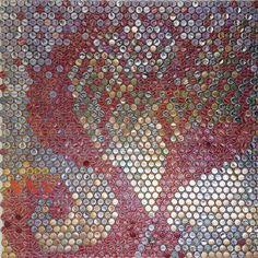 """Biollay Vanina """"Capsule"""" 100 x100 cm"""