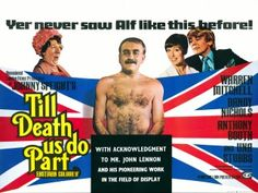 Images of the Comedy Movie Posters I have in my collection. British quad and 1 sheet saucy exploitation images from Tom William Chantrell and others for Carry On, Confessions, Adventures and other bawdy comedies British Comedy Movies, Till Death, John Lennon, Confessions, Quad, Adventure, Movie Posters, British Comedy Films, Film Poster
