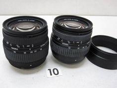 5L204FB SIGMA 18-50mm F3.5-5.6 レンズまとめて2本ジャンク_画像1