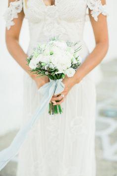 An Intimate Shipwreck Inspired Wedding In Paros Island, Greece Blue Wedding, Rustic Wedding, Paros Island, Romantic Themes, Wedding Bouquets, Wedding Dresses, Greece Wedding, Something Beautiful, Wedding Details