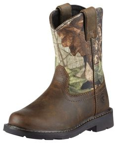 Ariat Children's Sierra Distressed Cowboy Boots available at #Sheplers