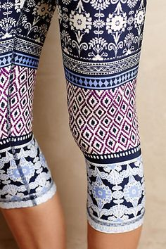 Ukiyo Cropped Leggings by Pure + Good #anthrofave