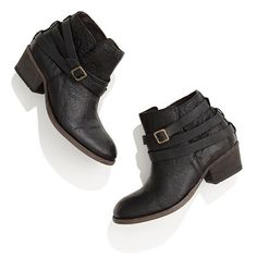 Basic pair of ankle booties with a little bit of heel. H by Hudson™ Horrigan Boots