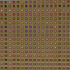 Minecraft Leather Dye Chart