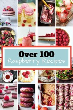 Here is the ultimate list of over 100 raspberry recipes. If you love raspberries as much as I do, you are going to want to refer to this recipe collection over and over again. Some recipes use fresh raspberries, some feature frozen raspberries but all will make your mouth water.