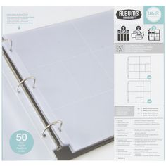 Amazon.com: We R Memory Keepers 12 x 12 inch 3-Ring Album Photo Sleeve Protectors, Multi Pack - 50 Pk {Only $15.27 right NOW, reg. $25.99 for 50! / SBO}