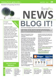 April 13 floristPro News