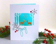 Memory Box Impress Exclusive Die, Memory Box Snow Burst, Memory Box Distressed Baptisia Collage, Memory Box Sketchbook Joy, Jean Okimoto, Imagine Crafts, Impress Cards and Crafts