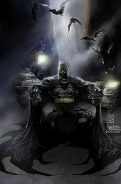 30 Amazing Batman Illustrations & Digital Paintings - 11 - Pelfind