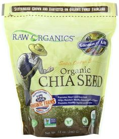 Garden of Life Raw Organics - Organic Chia Seeds, 12 oz Pouch * Read more reviews of the product by visiting the link on the image.