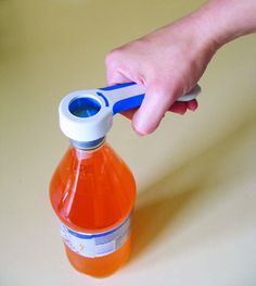 4 in 1 bottle opener - Indispensable for arthritis suffers and those with weakened grip. Opens cans, caps, jars and bottles without the struggle and strain on your hands